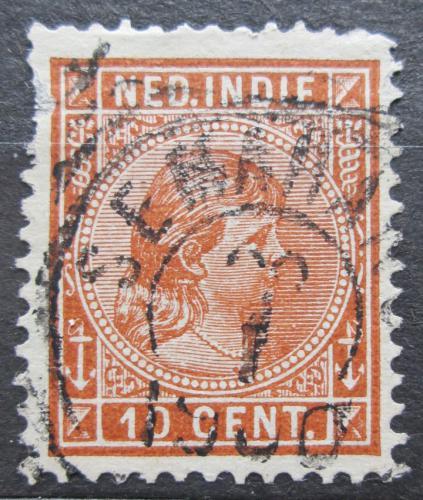 Poštovní známka Nizozemská Indie 1892 Královna Wilhelmina Mi# 23