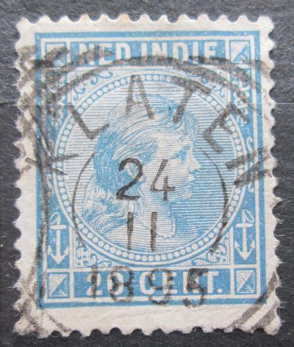 Poštovní známka Nizozemská Indie 1892 Královna Wilhelmina Mi# 26