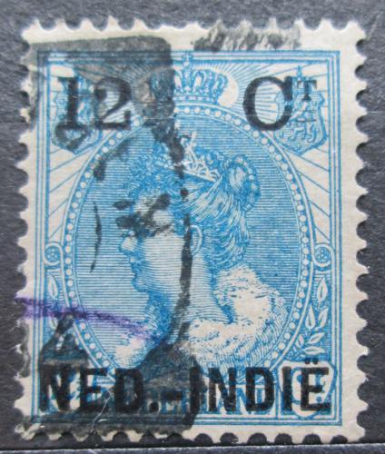 Poštovní známka Nizozemská Indie 1899 Královna Wilhelmina pøetisk Mi# 32