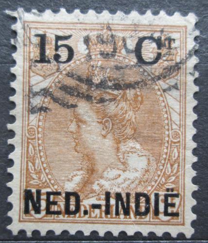 Poštovní známka Nizozemská Indie 1899 Královna Wilhelmina pøetisk Mi# 33