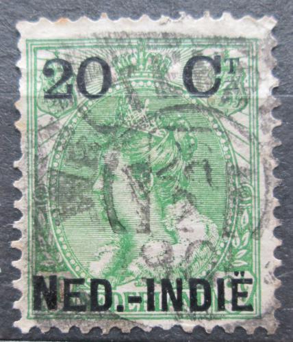 Poštovní známka Nizozemská Indie 1899 Královna Wilhelmina pøetisk Mi# 34