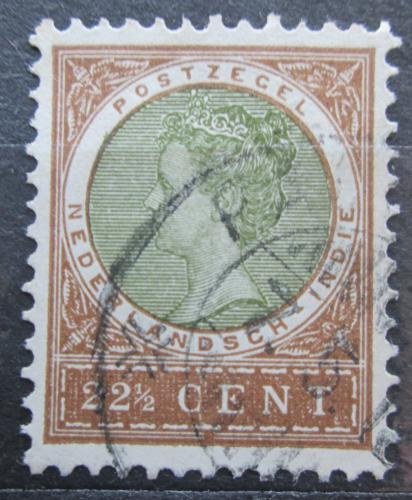 Poštovní známka Nizozemská Indie 1908 Královna Wilhelmina Mi# 60