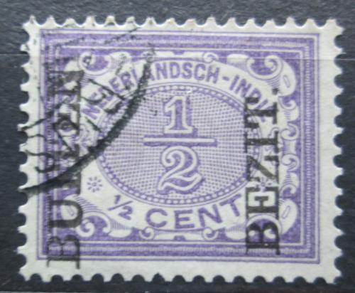 Poštovní známka Nizozemská Indie 1908 Nominální hodnota pøetisk Mi# 79