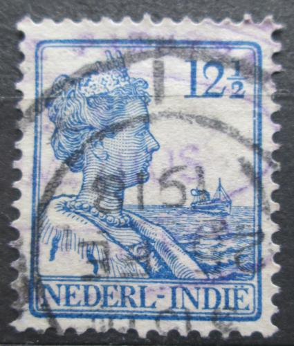 Poštovní známka Nizozemská Indie 1914 Královna Wilhelmina Mi# 116