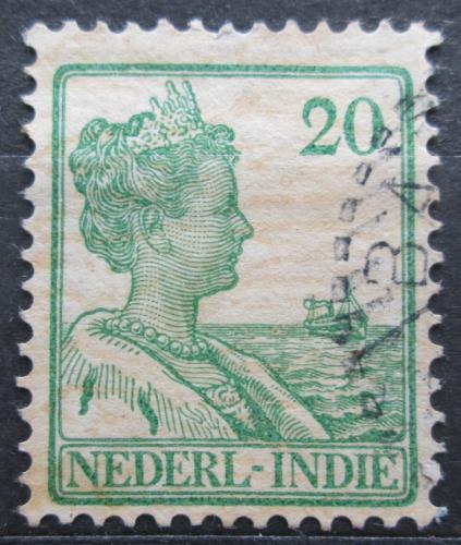 Poštovní známka Nizozemská Indie 1915 Královna Wilhelmina Mi# 118
