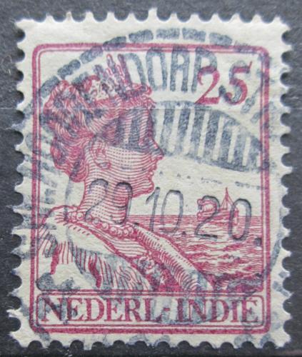 Poštovní známka Nizozemská Indie 1915 Královna Wilhelmina Mi# 120