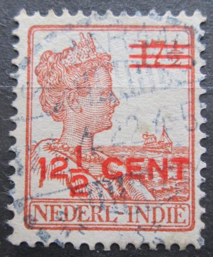 Poštovní známka Nizozemská Indie 1921 Královna Wilhelmina pøetisk Mi# 132