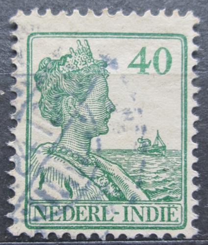 Poštovní známka Nizozemská Indie 1922 Královna Wilhelmina Mi# 146