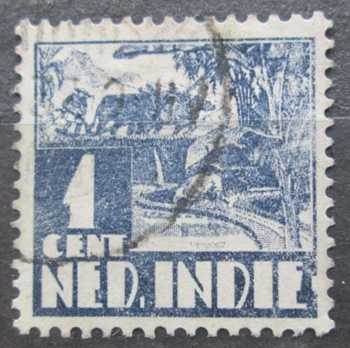 Poštovní známka Nizozemská Indie 1934 Farmáø na rýžovém poli Mi# 205