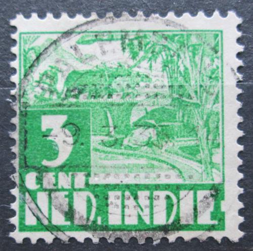 Poštovní známka Nizozemská Indie 1934 Farmáø na rýžovém poli Mi# 208