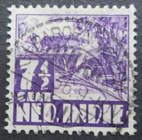 Poštovní známka Nizozemská Indie 1934 Farmáø na rýžovém poli Mi# 211