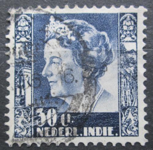 Poštovní známka Nizozemská Indie 1934 Královna Wilhelmina Mi# 218