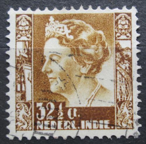 Poštovní známka Nizozemská Indie 1934 Královna Wilhelmina Mi# 219 Kat 10€