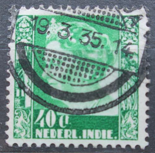 Poštovní známka Nizozemská Indie 1934 Královna Wilhelmina Mi# 221