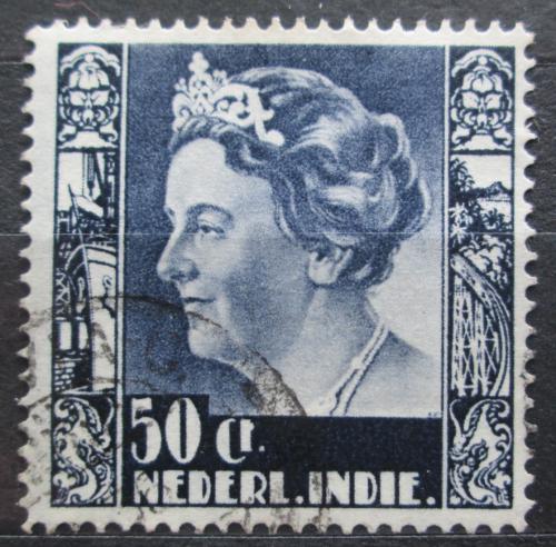 Poštovní známka Nizozemská Indie 1934 Královna Wilhelmina Mi# 223