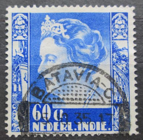 Poštovní známka Nizozemská Indie 1934 Královna Wilhelmina Mi# 224