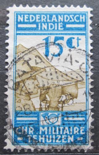 Poštovní známka Nizozemská Indie 1935 Hráè na lesní roh Mi# 233 Kat 6.50€