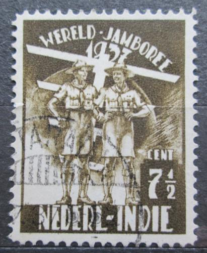 Poštovní známka Nizozemská Indie 1937 Skautské setkání Mi# 239