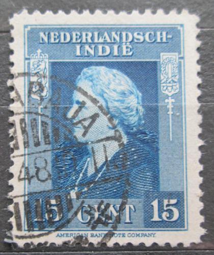 Poštovní známka Nizozemská Indie 1945 Královna Wilhelmina Mi# 326