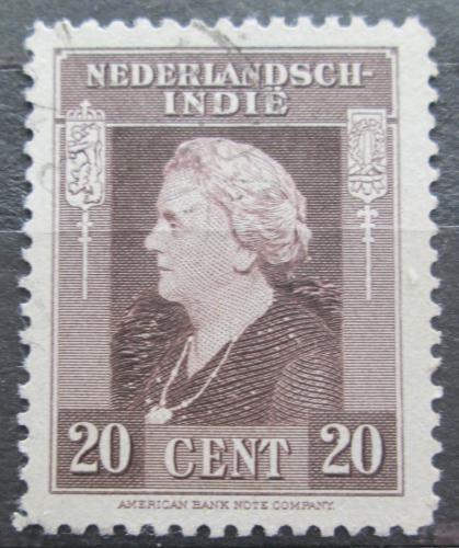 Poštovní známka Nizozemská Indie 1945 Královna Wilhelmina Mi# 328