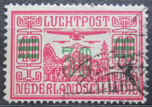 Poštovní známka Nizozemská Indie 1932 Letadlo pøetisk Mi# 173 b