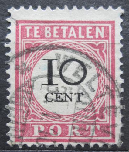 Poštovní známka Nizozemská Indie 1896 Doplatní Mi# 14 I b