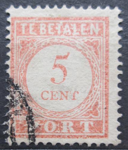 Poštovní známka Nizozemská Indie 1913 Doplatní Mi# 24