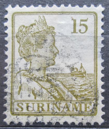 Poštovní známka Surinam 1913 Královna Wilhelmina Mi# 96