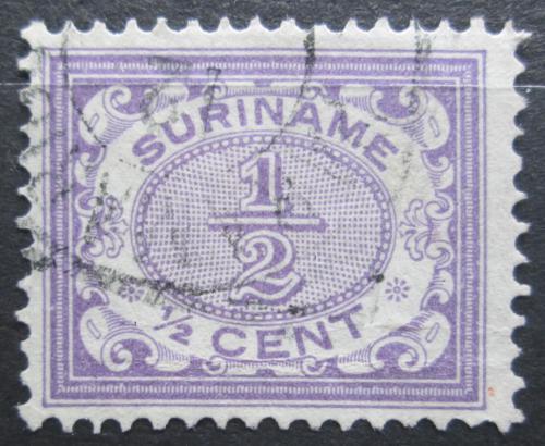 Poštovní známka Surinam 1902 Nominální hodnota Mi# 47