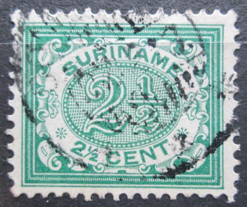 Poštovní známka Surinam 1908 Nominální hodnota Mi# 50