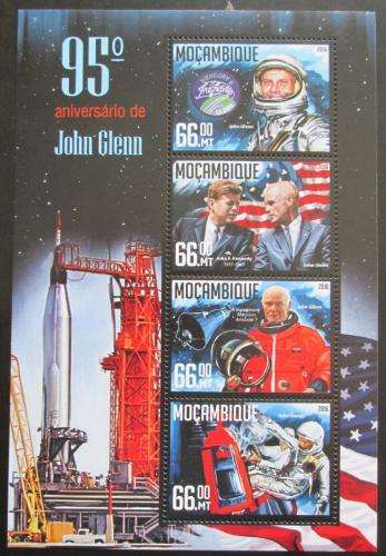 Poštovní známky Mosambik 2016 John Glenn Mi# 8524-27 Kat 15€