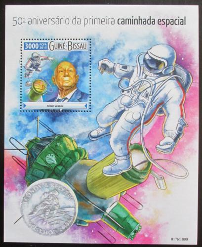 Poštovní známka Guinea-Bissau 2015 Prùzkum vesmíru Mi# Block 1419 Kat 11€