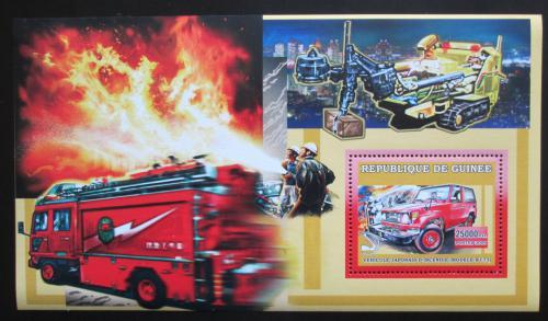 Poštovní známka Guinea 2006 Japonští hasièi DELUXE Mi# Block 1067