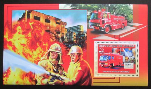 Poštovní známka Guinea 2006 Japonští hasièi DELUXE Mi# Block 1069