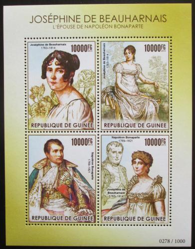 Poštovní známky Guinea 2015 Joséphine de Beauharnais Mi# 11298-301 Kat 16€