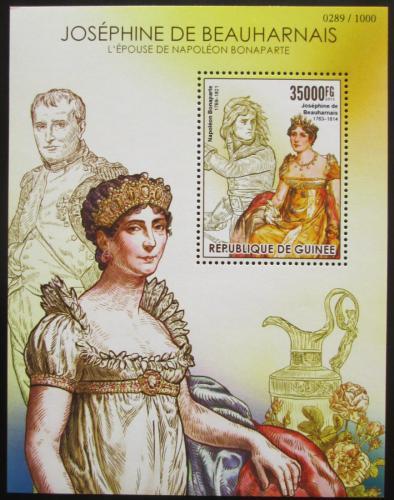 Poštovní známka Guinea 2015 Joséphine de Beauharnais Mi# Block 2556 Kat 14€