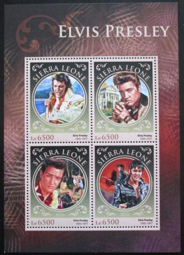 Poštovní známky Sierra Leone 2016 Elvis Presley Mi# 7688-91 Kat 12€
