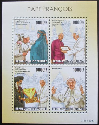 Poštovní známky Guinea 2015 Papež František Mi# 11388-91 Kat 16€