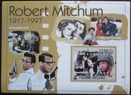 Guinea-Bissau 2010 Robert Mitchum, herec Mi# Block 891 Kat 11€