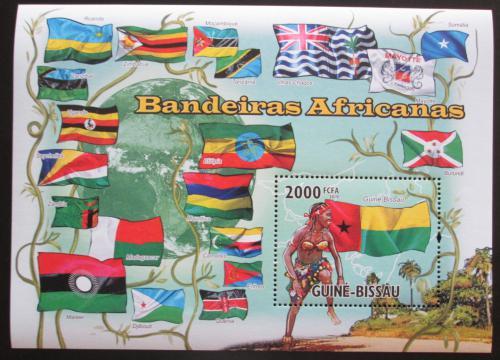 Poštovní známka Guinea-Bissau 2010 Vlajky afrických zemí Mi# 4933
