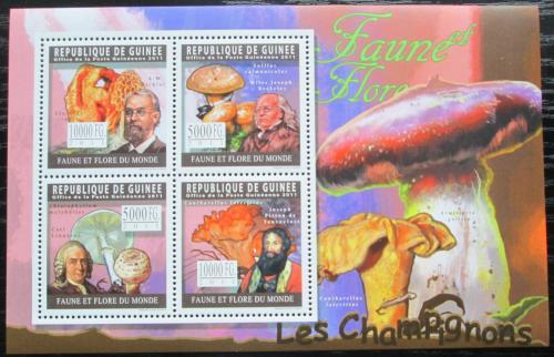 Poštovní známky Guinea 2011 Houby Mi# 8269-72 Kat 12€