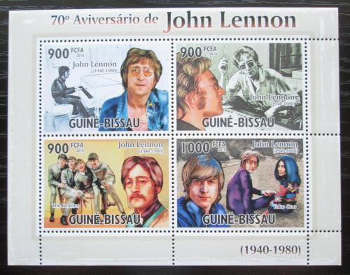 Poštovní známky Guinea-Bissau 2010 The Beatles, John Lennon Mi# 4925-28 Kat 14€
