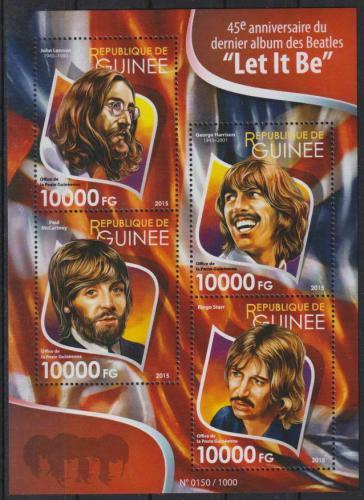 Poštovní známky Guinea 2015 The Beatles Mi# 11508-11 Kat 16€