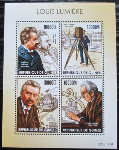 Poštovní známky Guinea 2015 Louis Lumiere Mi# 11313-16 Kat 16€