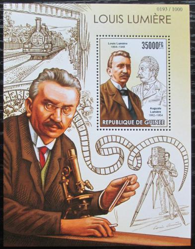 Poštovní známka Guinea 2015 Louis Lumiere Mi# Block 2559 Kat 14€