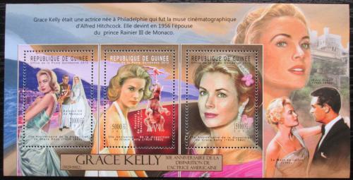 Poštovní známky Guinea 2012 Grace Kelly Mi# 9344-46 Kat 16€