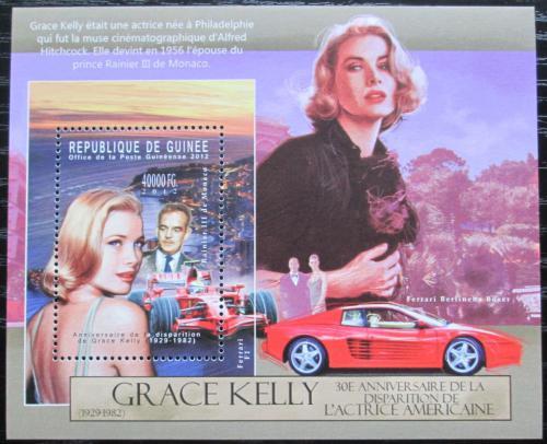 Poštovní známka Guinea 2012 Grace Kelly Mi# Block 2125 Kat 16€