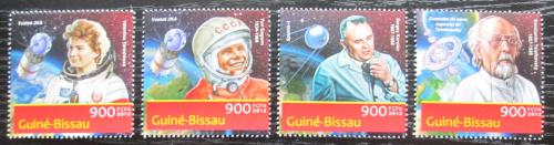 Poštovní známky Guinea-Bissau 2012 Sovìtský prùzkum vesmíru Mi# 6312-15 Kat 14€