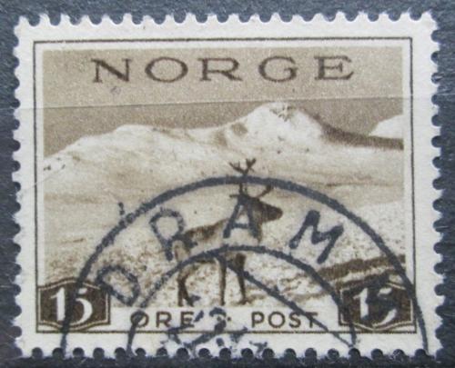 Poštovní známka Norsko 1939 Sob polární Mi# 200