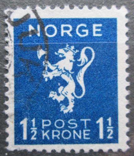 Poštovní známka Norsko 1940 Státní znak Mi# 208